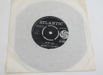 "Booker T & The MG's BE MY LADY 1965 UK  7"" SOUL  EX+ AUDIO"